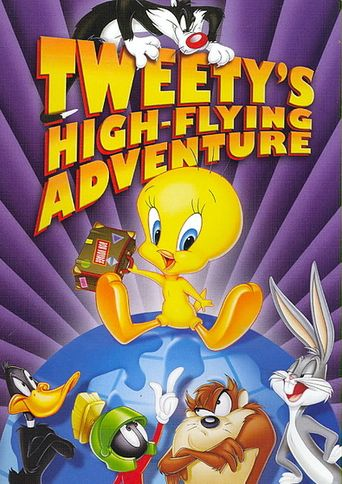 Tweety's High Flying Adventure Poster