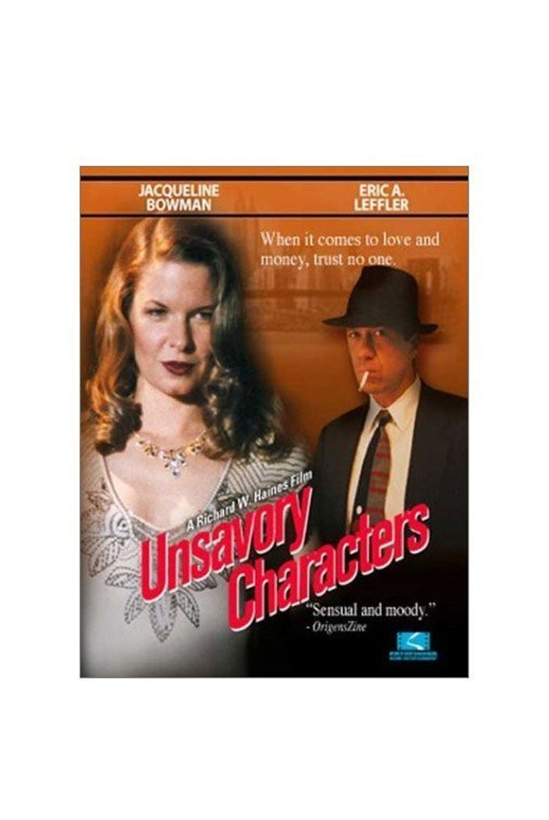 Unsavory Characters Poster