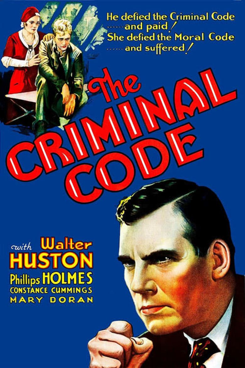 The Criminal Code Poster