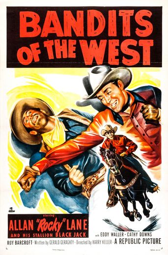 Bandits of the West Poster