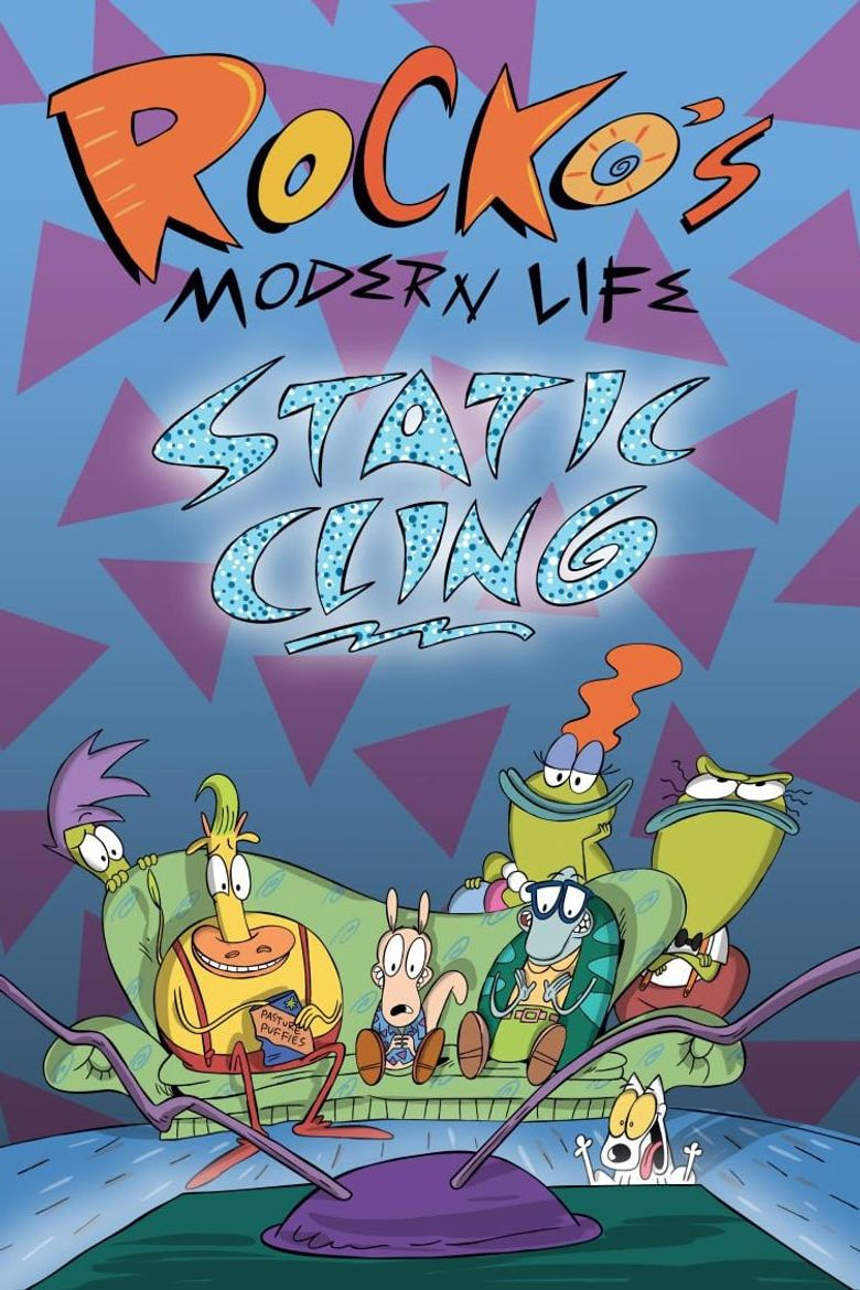 Rocko's Modern Life: Static Cling Poster