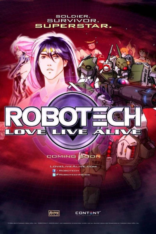 Watch Robotech: Love Live Alive