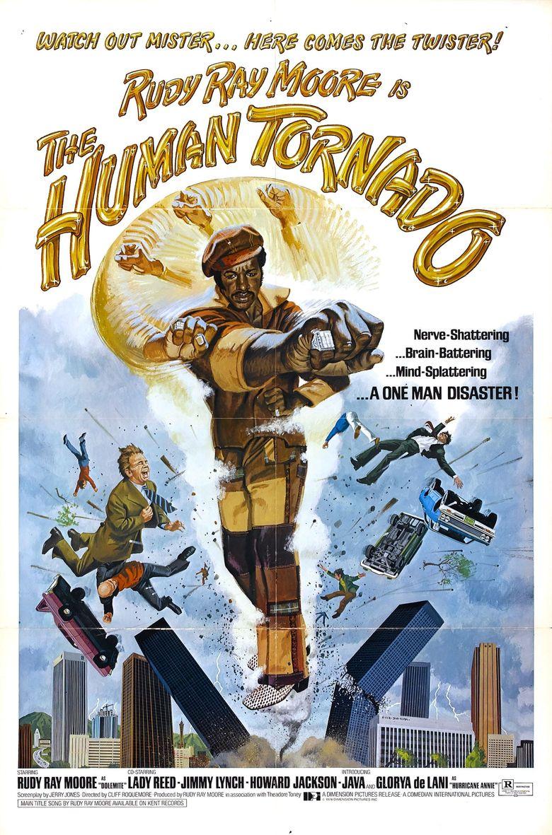 The Human Tornado Poster