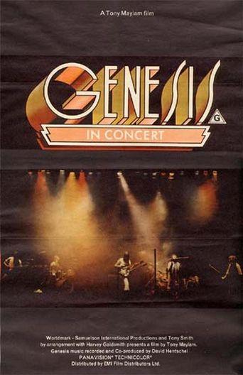 Genesis - In Concert Poster