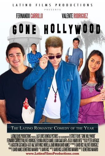 Gone Hollywood Poster
