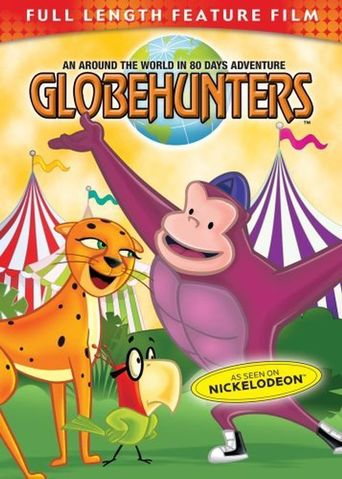 Globehunters: An Around the World in 80 Days Adventure Poster