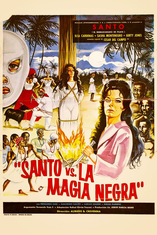Santo vs. Black Magic Woman Poster