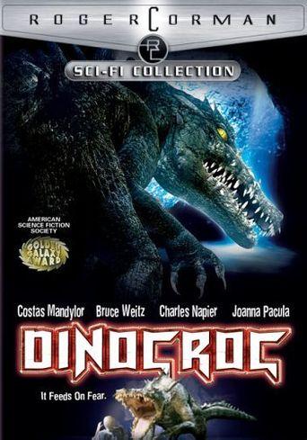 Dinocroc Poster