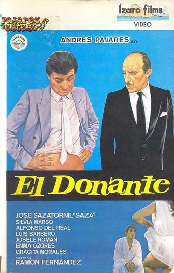 El donante Poster