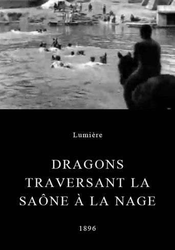 Dragoons Crossing the Sâone Poster