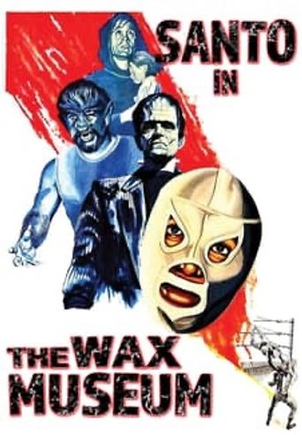 Santo in the Wax Museum Poster