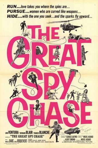 The Great Spy Chase Poster
