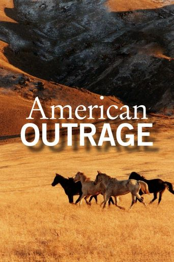 American Outrage Poster