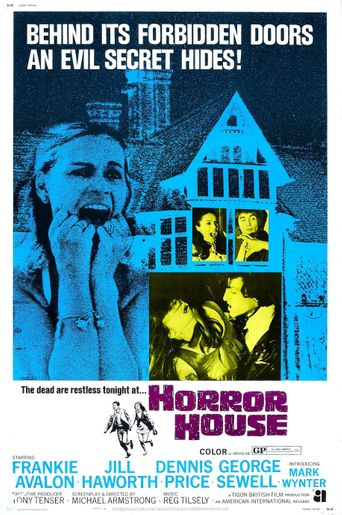 The Haunted House of Horror Poster