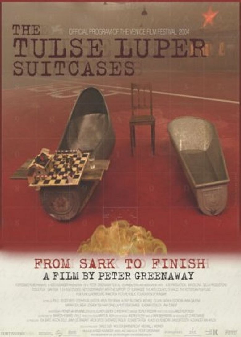 The Tulse Luper Suitcases, Part 3: From Sark to the Finish Poster