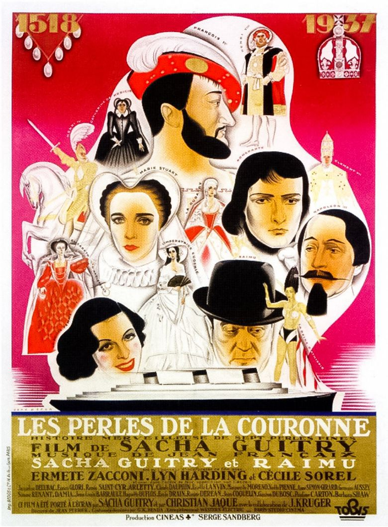The Pearls of the Crown Poster