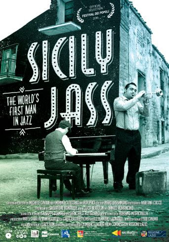 Sicily Jass. The World's First Man in Jazz Poster