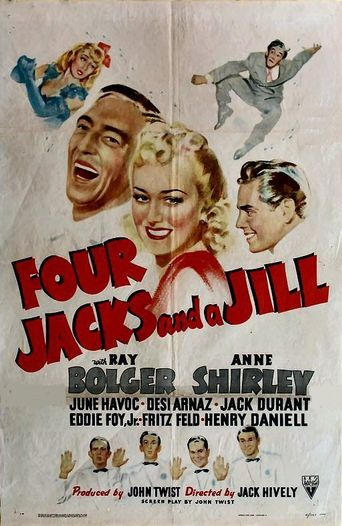 Four Jacks and a Jill Poster