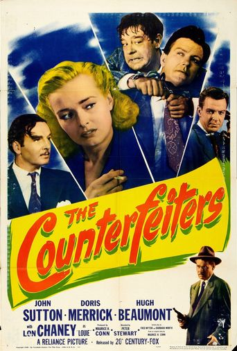 The Counterfeiters Poster