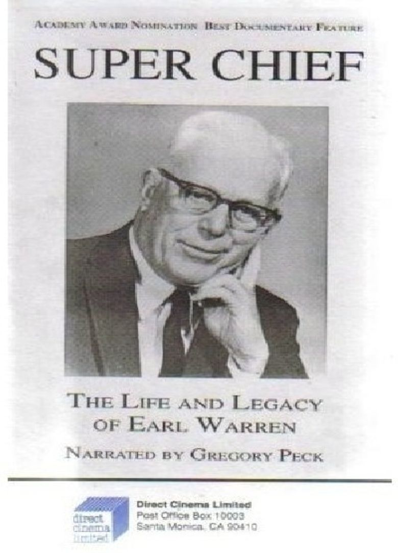Super Chief: The Life and Legacy of Earl Warren Poster