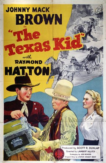 The Texas Kid Poster
