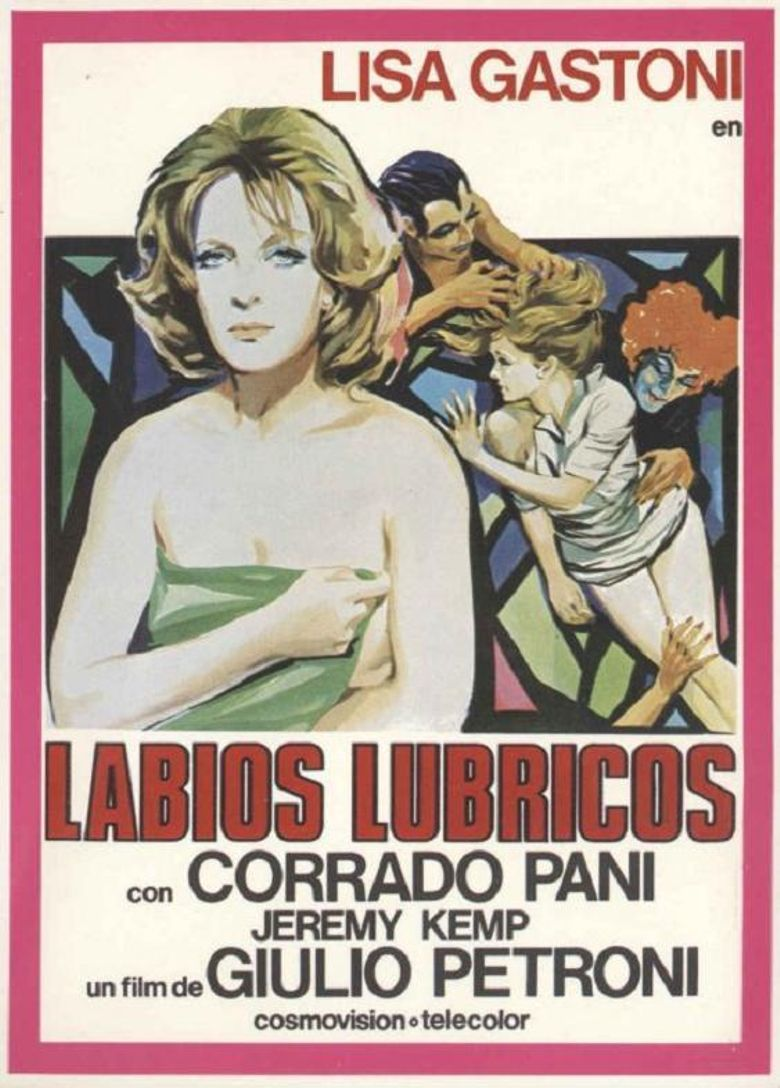 Lips of Lurid Blue Poster