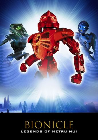 Bionicle 2: Legends of Metru Nui Poster