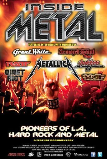 Inside Metal: The Pioneers of L.A. Hard Rock and Metal Poster