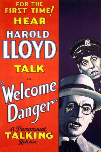 Welcome Danger Poster