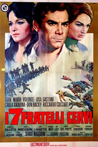 The Seven Cervi Brothers Poster