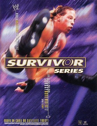 WWE Survivor Series 2002 Poster