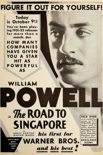 The Road to Singapore Poster