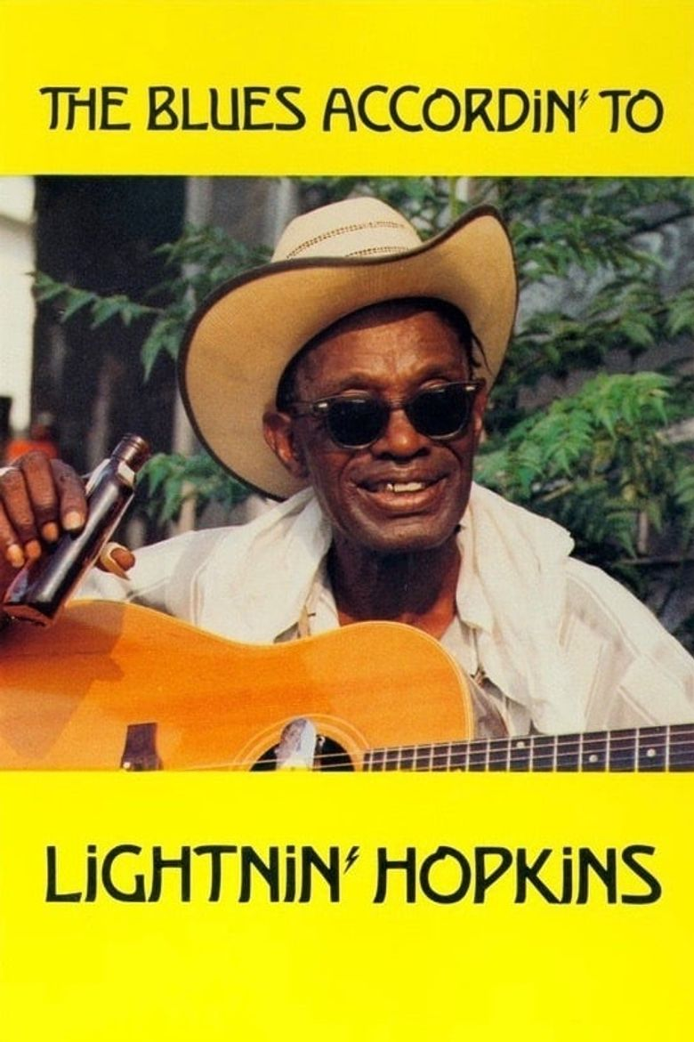 The Blues Accordin' to Lightnin' Hopkins Poster