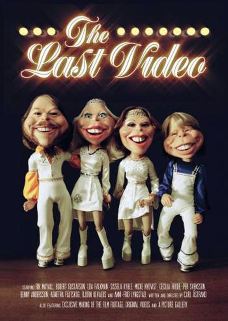 ABBA - The Last Video Poster