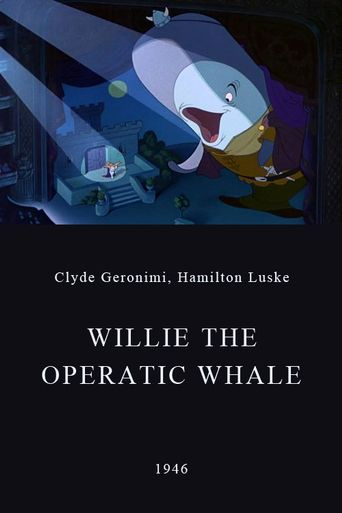Willie the Operatic Whale Poster