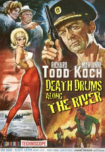 Death Drums Along the River Poster