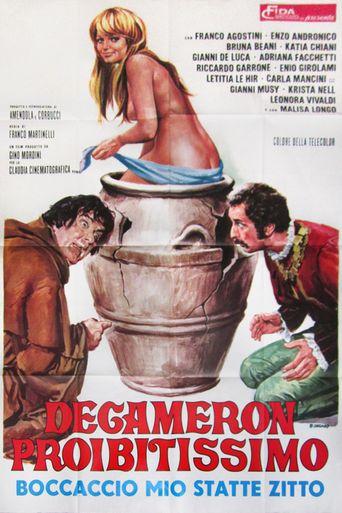Decameron proibitissimo (Boccaccio mio statte zitto) Poster