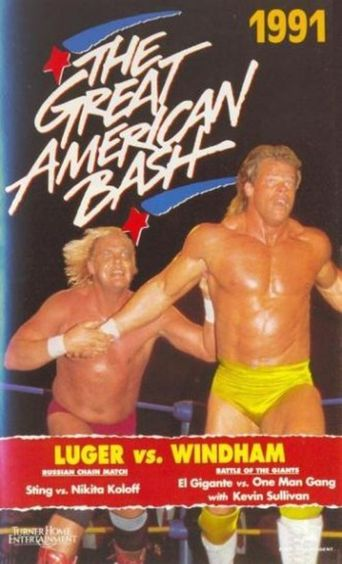 WCW The Great American Bash 1991 Poster