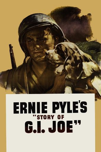 Ernie Pyle's Story of G.I. Joe Poster