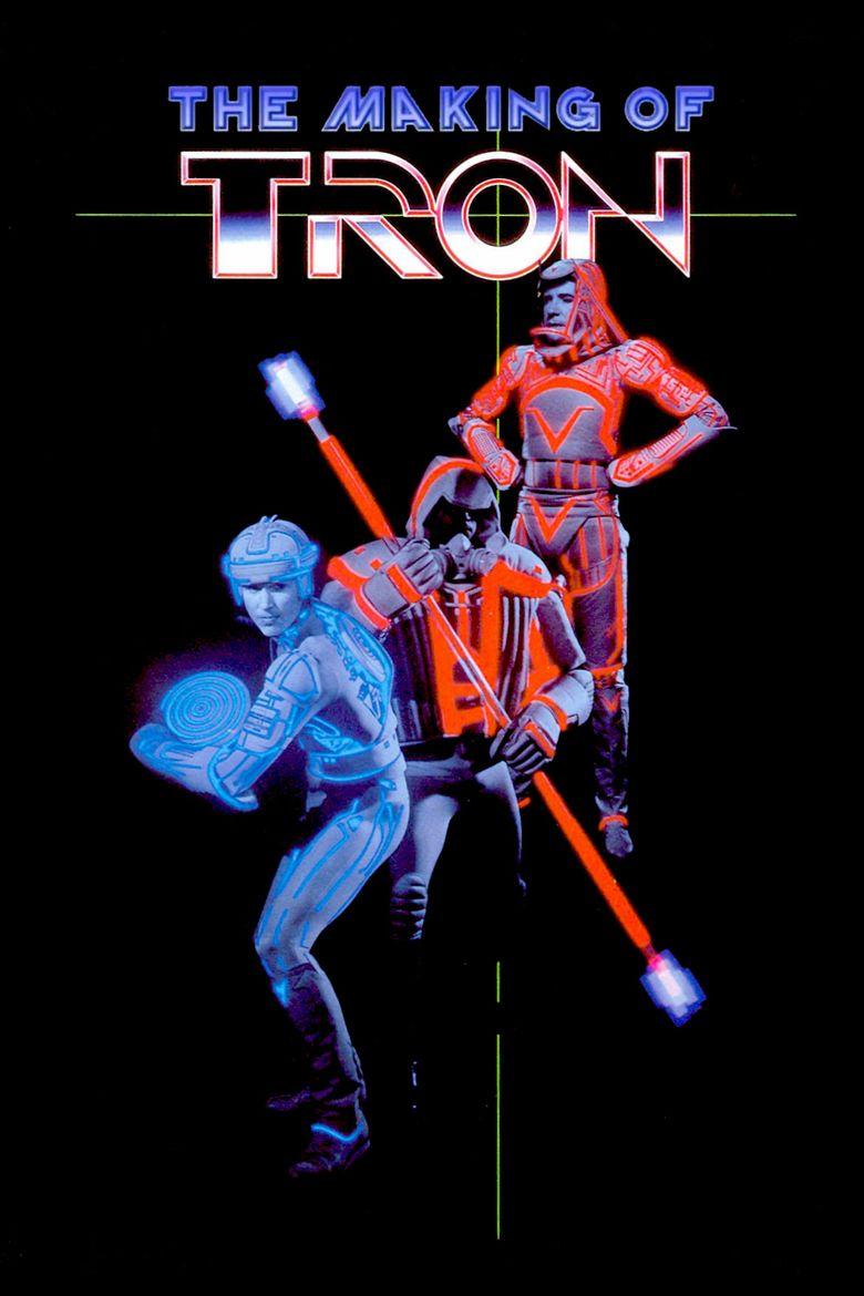 The Making of TRON Poster