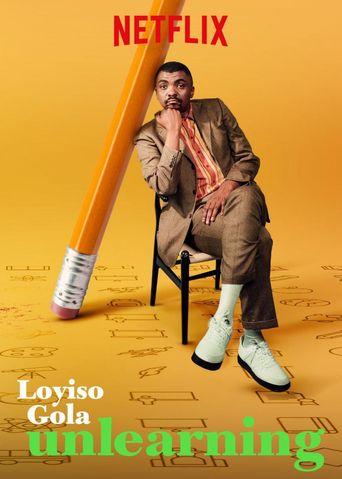 Loyiso Gola: Unlearning Poster