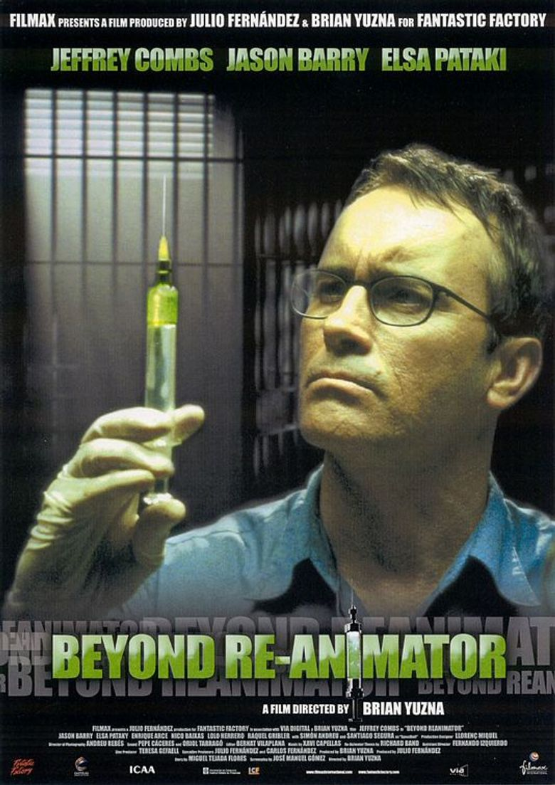 Beyond Re-Animator Poster