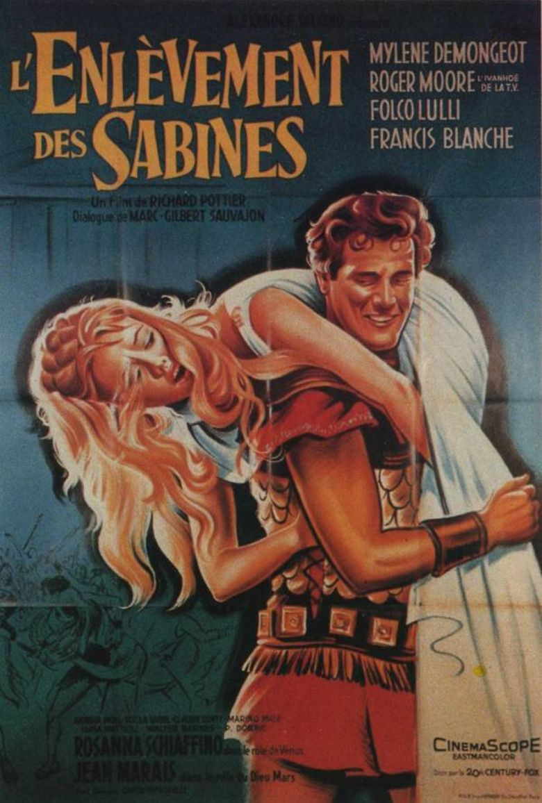 The Rape of the Sabine Poster