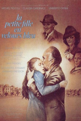 Little Girl in Blue Velvet Poster