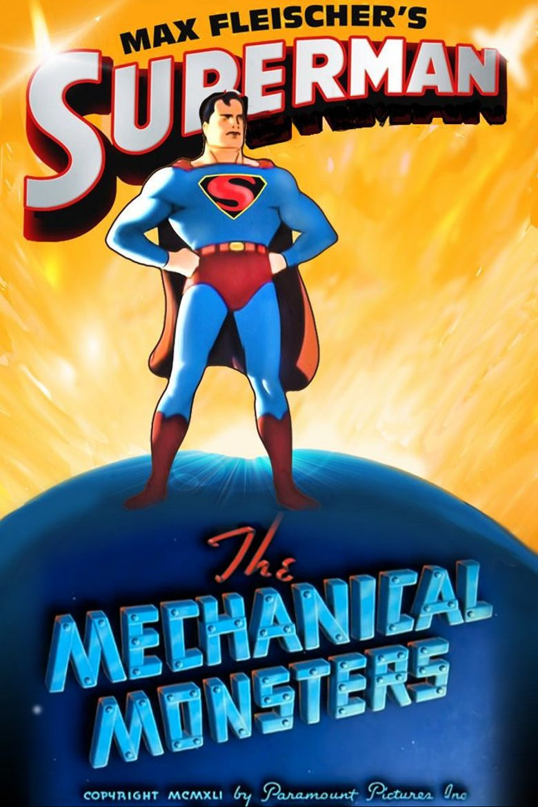 Superman: The Mechanical Monsters Poster