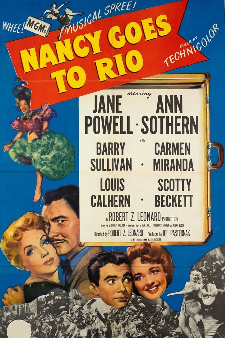 Nancy Goes to Rio Poster