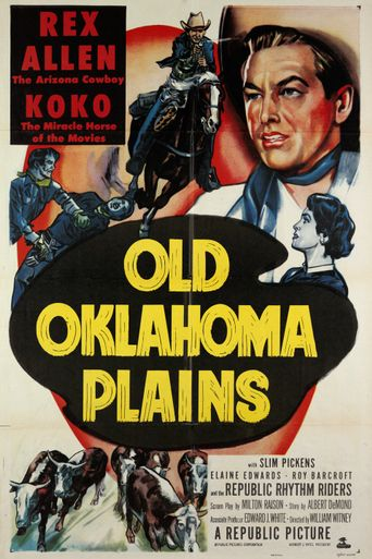 Old Oklahoma Plains Poster