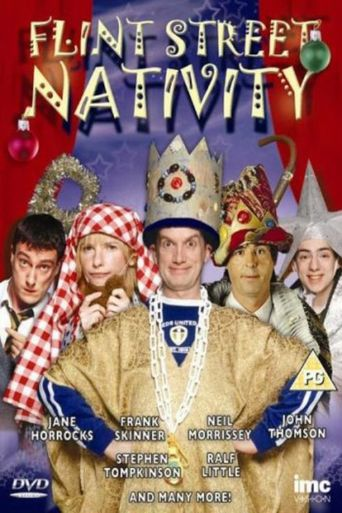The Flint Street Nativity Poster
