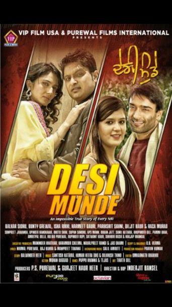 Desi Munde Poster
