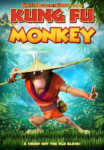 Kung Fu Monkey Poster